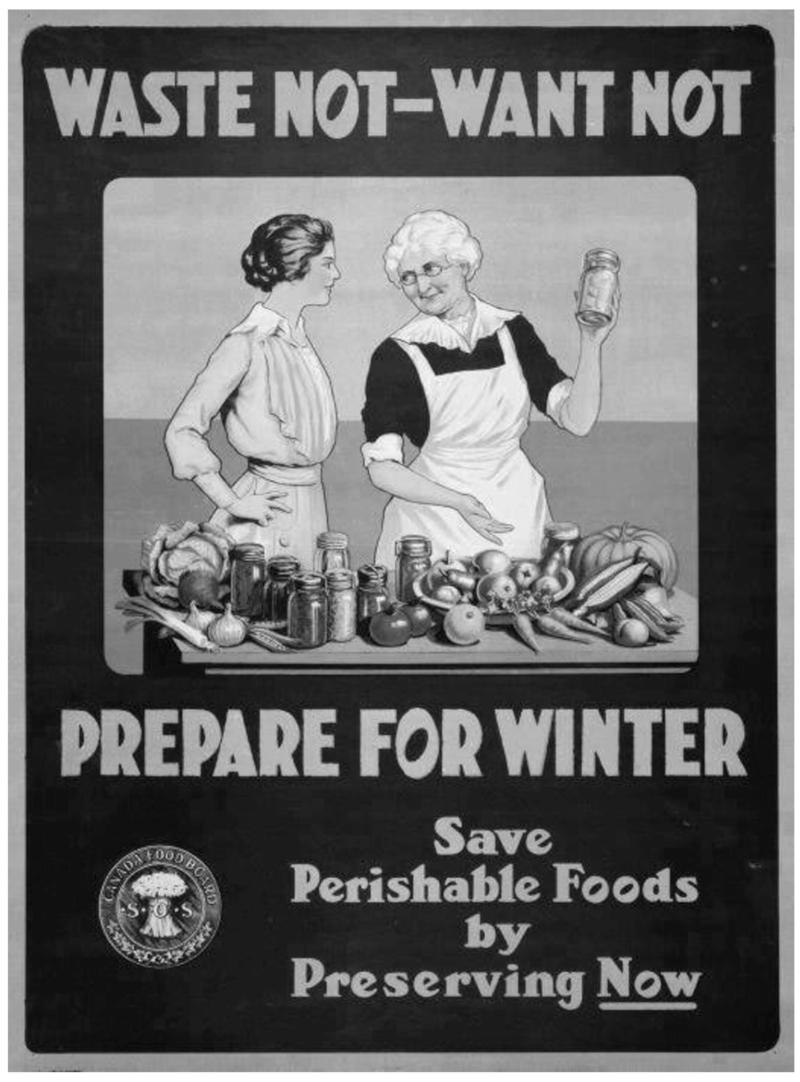 Departments - Food Preserving