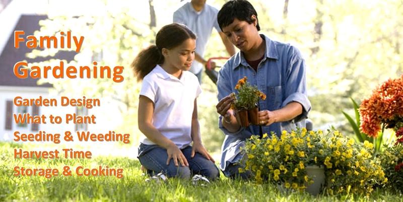 Departments - Family Gardening