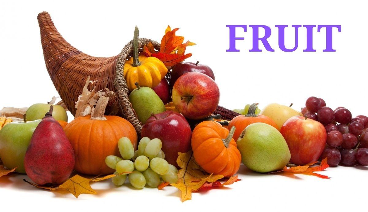 Departments - Fruits